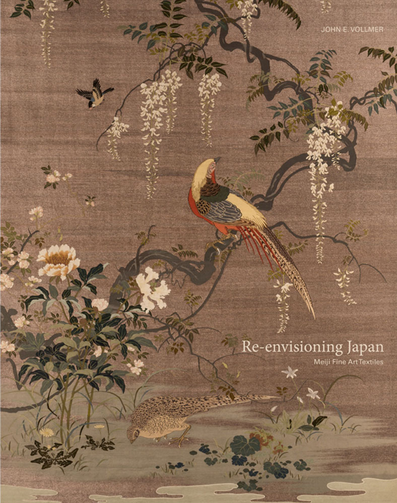Re-envisioning Japan Meiji Fine Art Textiles book cover